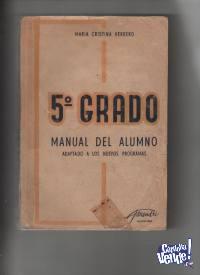 MANUALES PRIMARIOS ANTIGUOS $290 c/u