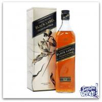 JOHNNIE WALKER (ES. METAL) - BLACK LABEL - WHISKY - (750 ML)