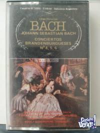 Cassette Bach - Conciertos Brandenburgueses N° 4, 5 y 6