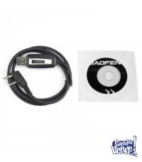 Cable Programacion Y Cd Handy Baofeng Uv5r, Bf888 Y Otros