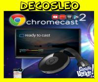 Google Chromecast 3 Smart Tv Usb NETFLIX YOUTUBE WIFI ORIGIN
