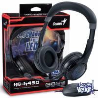 Auricular GAMER Genius Hs-G450 Usb 7.1 Mic Headset