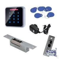 Kit Control Accesos - Antivandálico - Pestillo Fail Sacure