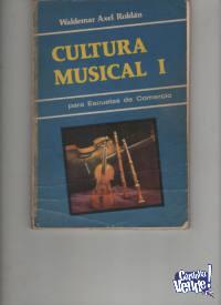 3 LIBROS DE CULTURA MUSICAL - Waldemar A.Roldan  $290 los 3