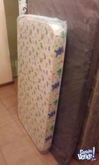 Colchón infantil de cuna 97x65x10cm marca Taurus