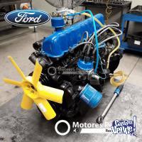 Vendo motor Ford 221 rectificado con 04