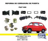 REFORMA CERRADURA DE PUERTA FIAT 600