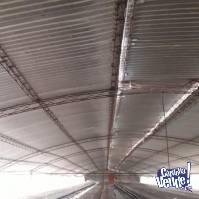 Galpon Completo A desarmar techo cabriadas metalicas permuto