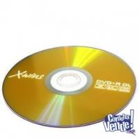 DVD DUAL LAYER VIRGEN GENERICO 8x - 240min - 8,5gb