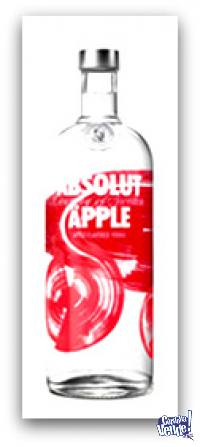 ABSOLUT APPLE - VODKA - (750 ML)