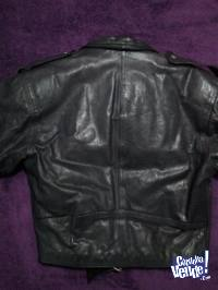 Campera de cuero Genuine Leather