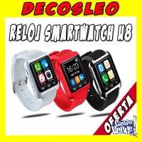 Reloj Inteligente Smartwatch U8 Android Iphone Decosleo Ya !