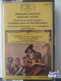Cassette - Joaquín Rodrigo/Narciso Yepes - Concierto