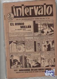 9 REVISTAS INTERVALO ANTIGUAS  $ 2490.-
