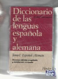 DICCIONARIO ESPAÑOL/ALEMAN  Slaby-Grossmann 2 t USS 70