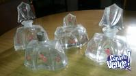 Frascos de Perfumeros antiguos de coleccion juego