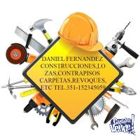 TODO CONSTRUCCIONES REPARACIONES Y REMODELACIONES EN GRAL