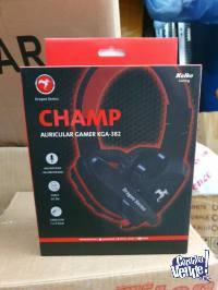 Auricular Kolke Gamer Champ Kga-382 PC Ps4 xboxone Negro