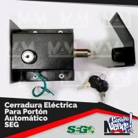 Cerradura Eléctrica + Módulo 8f - P/portón Automático
