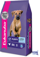 EUKANUBA PUPPIE LARG BREED X 15KG