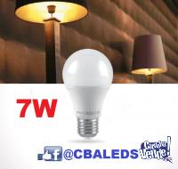 BULBO LAMPARA LED 7W X100 UNIDADES