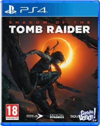 SHADOW OF THE TOMB RAIDER PS4 NUEVO