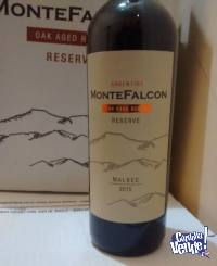 Vino Montefalcon Cabernet Reserva 6 Meses Roble Caja X 6