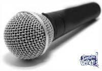 Microfono Parquer Sn-58 Con Cable Dinamico - Tipo Sm-58