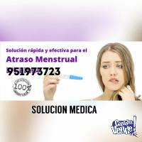 Atraso Menstrual 951973723 CUSCO Centro Medico