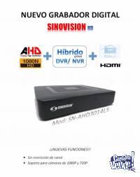 DVR / NVR 4 Canales Sinovision HD