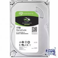 DISCO DURO INTERNO PC 1TB - SATA 3 - SEAGATE BARRACUDA