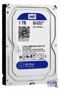 DISCO DURO INTERNO PC 1TB-SATA 3- 64MB WESTERN DIGITAL BLUE