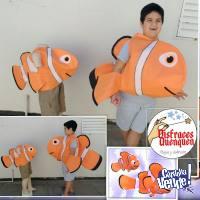 Disfaz de pez para niños