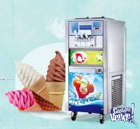 Maquina SPACEMAN de helados soft y frozen yogurt