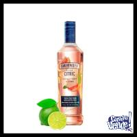 SMIRNOFF BITTER CITRIC - VODKA SABORIZADO - (750 ML)