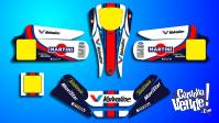 Kit Calcos Karting Focus Laminado 3m Estandar