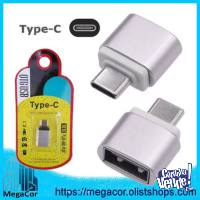 Adaptador OTG USB a Tipo C