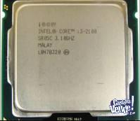Intel Core I3-2100 3.10ghz Socket 1155 con cooler