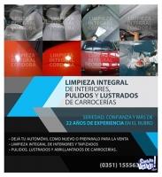 LIMPIEZA DE TAPIZADOS EN CORDOBA , PULIDOS DE AUTOS