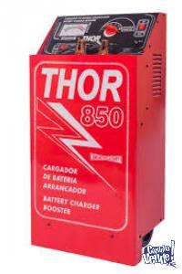 Cargador De Baterias Y Arrancador Carrito Modelo Thor 850