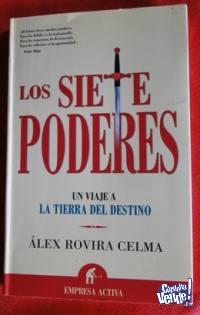 LOS SIETE PODERES  ÁXEL ROVIRA CELMA