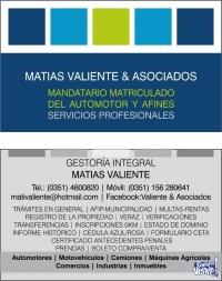 GESTORÍA INTEGRAL MATÍAS VALIENTE & ASOCIADOS