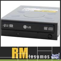 Grabadora de DVD LG Samsung Asus 24x Negra