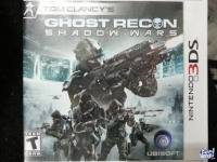 JUEGO ORIGINAL NINTENDO 3DS GHOST RECON SHADOW WAR
