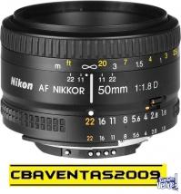 Lente AF Nikkor 50mm f/1.8D NIKON 50mm f/1.8D
