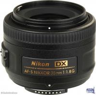 LENTE NIKON 35mm f/1.8G Lente AF Nikkor 35mm f/1.8G CENTRO