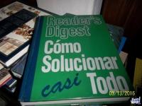 """LIbro del Reader´s Digest: """"Como solucionar casi todo"""""""