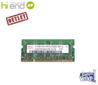 MEMORIA SODIMM DDR2 512 MB PC4200