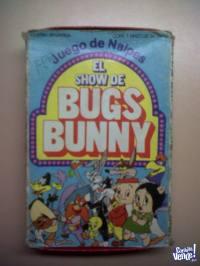 Naipes El Show De Bugs Bunny Cromy Cartas