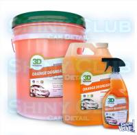 ORANGE DEGREASER 3D